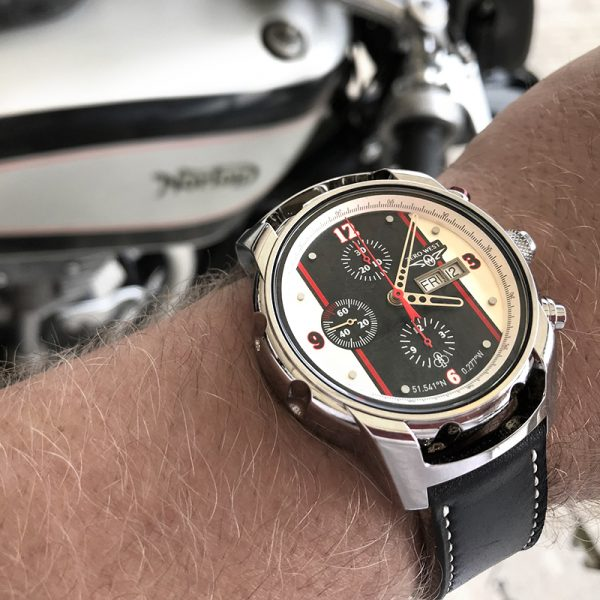 CR-1 - Cafe Racer 1950's Zero West Watches