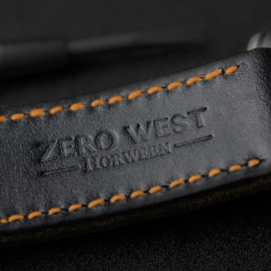 Horween leather straps by Zero West